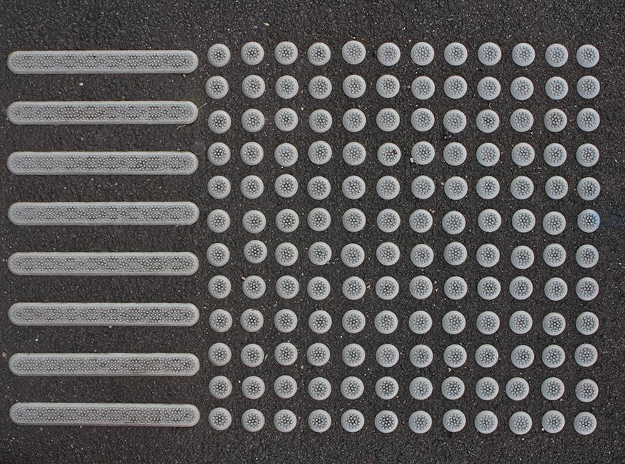 144 Dots 8 Lines